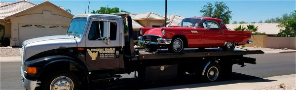 Image of a Desert Eagle Towing truck in Mesa, Arizona