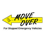 Move Over For Stopped Emergency Vehicles